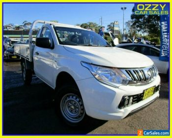 2015 Mitsubishi Triton MQ MY16 GLX White Manual 6sp M Cab Chassis for Sale