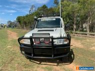 2010 Toyota Landcruiser VDJ79R Workmate White Manual M Cab Chassis