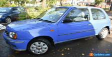 Nissan Blue Micra S 1.0L Car