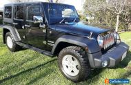 2013 JEEP JK SPORT WRANGLER UNLIMITED 209KW 3.6 V6, AUTO 4X4 FIRST REGO 11/2013