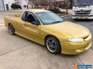 Damaged Holden commodore ute 5 speed manual easy fix