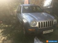 jeep crd 2.5 spares or repairs