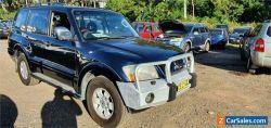 2003 Mitsubishi Pajero NP Exceed LWB (4x4) Blue Automatic 5sp A Wagon