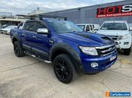 2013 Ford Ranger PX XLT Blue Automatic A Utility