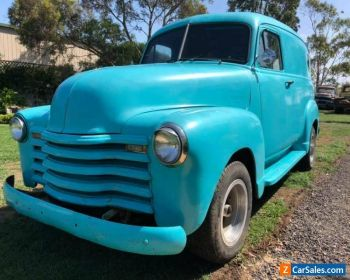 1953 Chevrolet Panel Truck Custom Hotrod Van for Sale