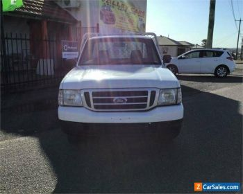 2003 Ford Courier PG GL White Manual M Utility for Sale