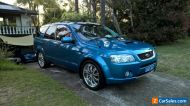 2007 Ford Territory Ghia Turbo Barra 245 Neo Blue FPV Lowered 20 inch wheels