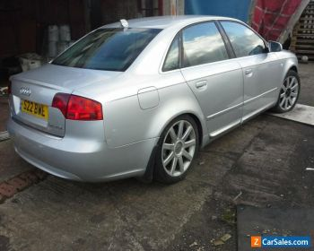 Audi s line 2.0 tdi, A4 B7, Special edition leather, spares or repair, for Sale