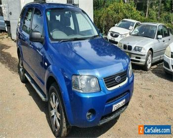 2007 Ford Territory SY SR (RWD) Blue Automatic 4sp A Wagon for Sale