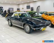 1964 Chevrolet Corvette Stingray Blue Manual 4sp M Roadster