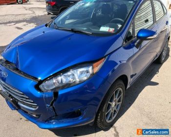 2019 Ford Fiesta salvage damaged rebuildable for Sale