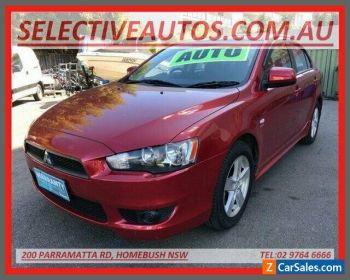 2007 Mitsubishi Lancer CJ VR Red Automatic 6sp A Sedan for Sale