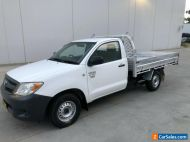 TOYOTA HILUX 2006 WORKMATE UTE 2.7L PETROL MANUAL ALLOY TRAY 3 SEATER 4X2