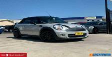 2011 Mini Cabrio R57 LCI Cooper Convertible 2dr Steptronic 6sp 1.6i Silver A