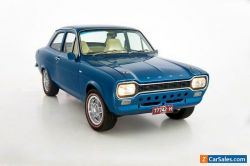 1970 Escort Mk I Coupe Ford Fully Restored 2L Pinto Auto T-Bar Cosmic Blue 2dr