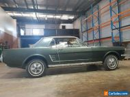 1966 FORD MUSTANG COUPE,289 V8, 3 SPEED AUTO,MANUAL STEERING AND BRAKES,PARTS