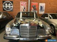 Mercedes,Benz,280s,W108,rare,Classic,collectible,rat,Rod,not BMW,AMG,Jaguar,