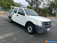 2008 Holden Rodeo White Manual 5sp M Dual Cab