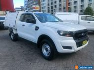 2016 Ford Ranger PX MkII XL 2.2 Hi-Rider (4x2) White Automatic 6sp A