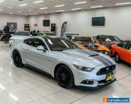 2017 Ford Mustang FM MY17 Fastback GT 5.0 V8 Silver Automatic 6sp A Coupe