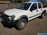2004 HOLDEN RODEO RA LX 4X4 DUAL CAB UTE 3.0L TURBO DIESEL 5 SP MANUAL LOW KMS