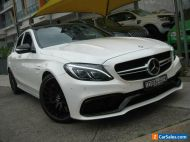 2015 Mercedes-Benz C63 205 AMG S White Automatic 7sp A Sedan