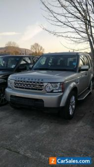 Land Rover Discovery 4 3.0 Tdv6 Engine removed