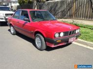 BMW E 30 Coupe 1.8i Red 1989.