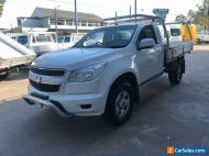 2015 Holden Colorado RG MY15 LS (4x2) White Automatic 6sp A Cab Chassis