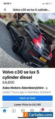 Volvo C30 lux