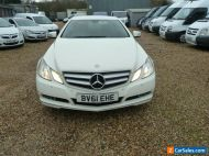 mercedes benz e class 250 cdi coupe 125 edition blue efficency amg