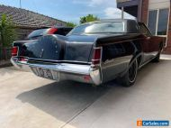 ford Lincoln continental mark 111 low 59,000 mile car complete less motor auto