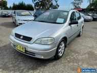 2005 Holden Astra TS MY05 Classic Equipe Silver Automatic 4sp A Sedan