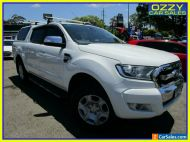 2015 Ford Ranger PX MkII XLT 3.2 (4x4) White Manual 6sp M Double Cab Pick Up