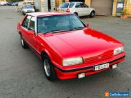 1987 Ford XF Fairmont GHIA EFI.. Fully Opt. Factory Monza Red LOW KMS # xd xe ea