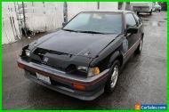1985 Honda CRX 2 Dr Hatchback