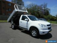 2013 Holden Colorado RG Tipper LX (4x2) Tipper White Automatic 6sp A