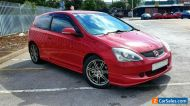 2004 Honda Civic Type R EP3 K20 Rare Milano Red Leather AC no swap px 1 Year MOT