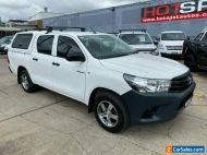 2016 Toyota Hilux TGN121R Workmate White Automatic 6sp A Utility
