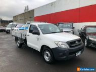 2009 Toyota Hilux TGN16R Workmate Cab Chassis Single 2dr Man 5sp 4x2 2.7i tradie