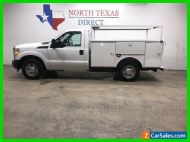 2013 Ford F-250 XL Service Body Utility Bed Mechanic Truck Plumbin