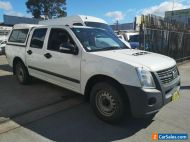 TURBO DIESEL - 2008 HOLDEN RODEO - MAY 2021 REGO - DUAL CAB CANOPY