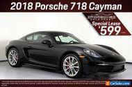 2018 Porsche Cayman 2dr Coupe