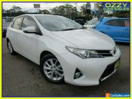 2013 Toyota Corolla ZRE182R Ascent Sport White Manual 6sp M Hatchback