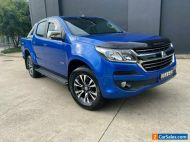2017 Holden Colorado Blue Automatic A Utility