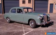 1958 Mercedes 220S,  lowered price