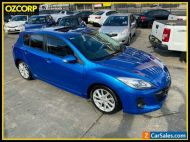 2012 Mazda 3 BL Series 2 MY13 SP25 Blue Automatic 5sp A Hatchback