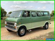 1972 Ford E-Series Van NO RESERVE Econoline Van Survivor, Camper, Good Times
