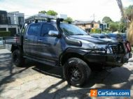 2013 Toyota Hilux KUN26R MY12 SR (4x4) Grey Manual 5sp M Dual Cab Chassis