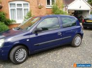 Renault clio campus 1100cc MOT until 19/03/21 very low  miles 38548 miles.